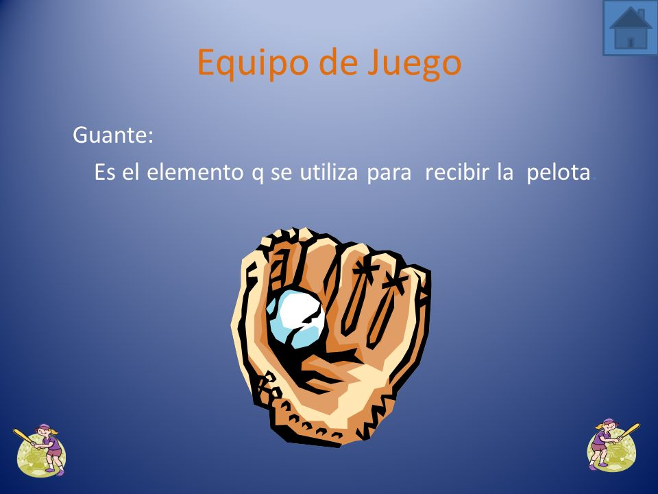 Es el elemento q se utiliza para recibir la pelota.