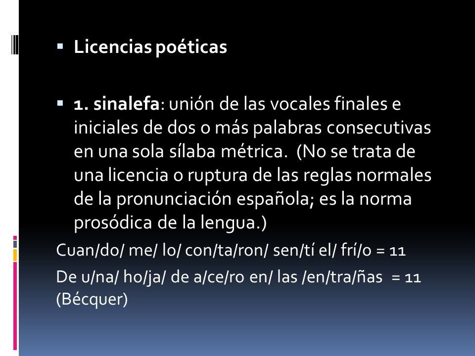 Licencias poéticas