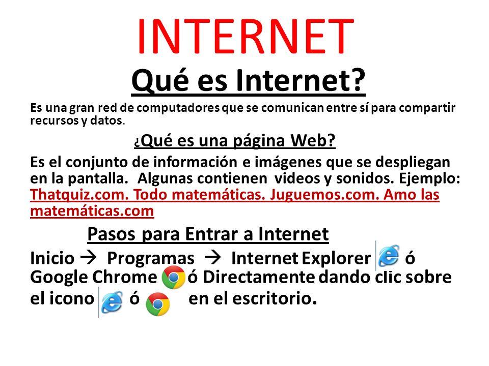 INTERNET Qué es Internet