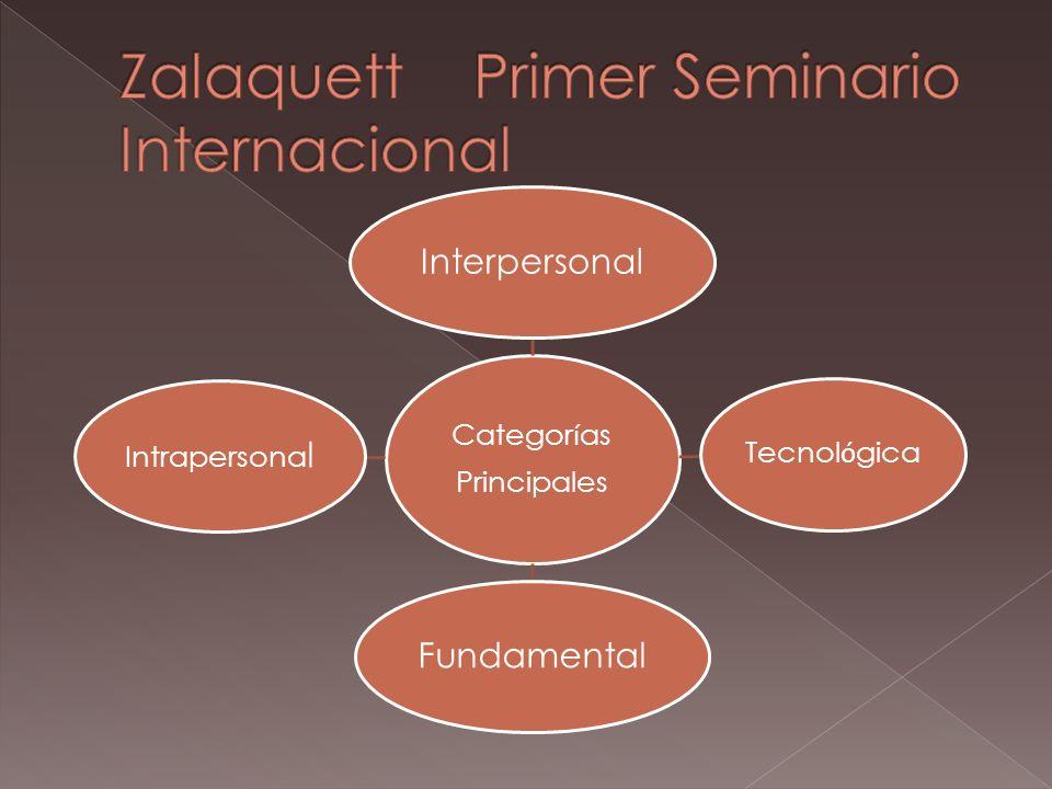 Zalaquett Primer Seminario Internacional