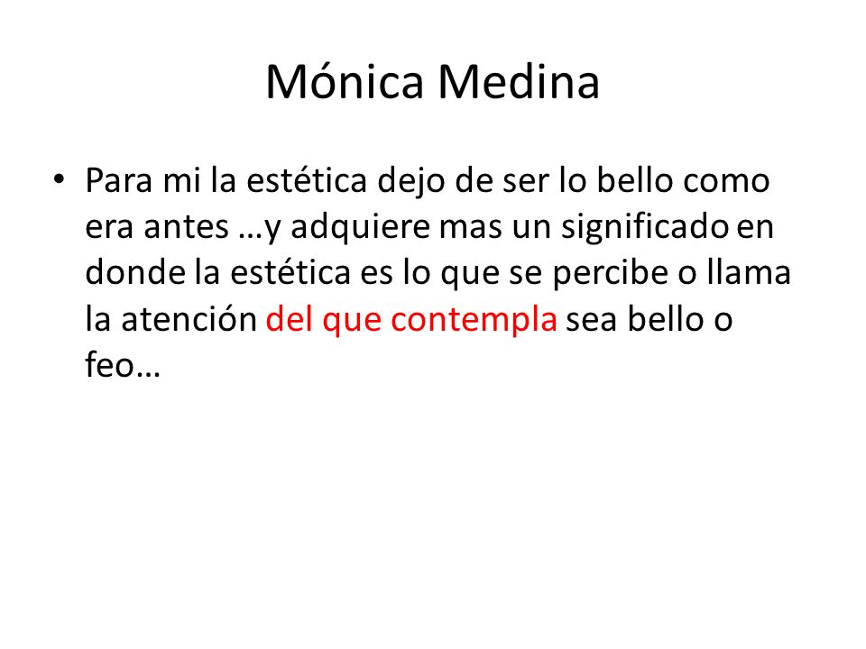 Mónica Medina