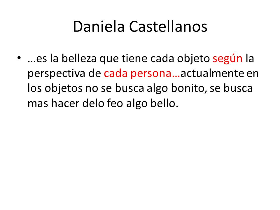Daniela Castellanos