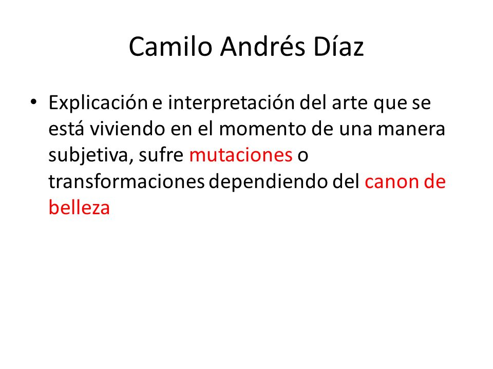 Camilo Andrés Díaz