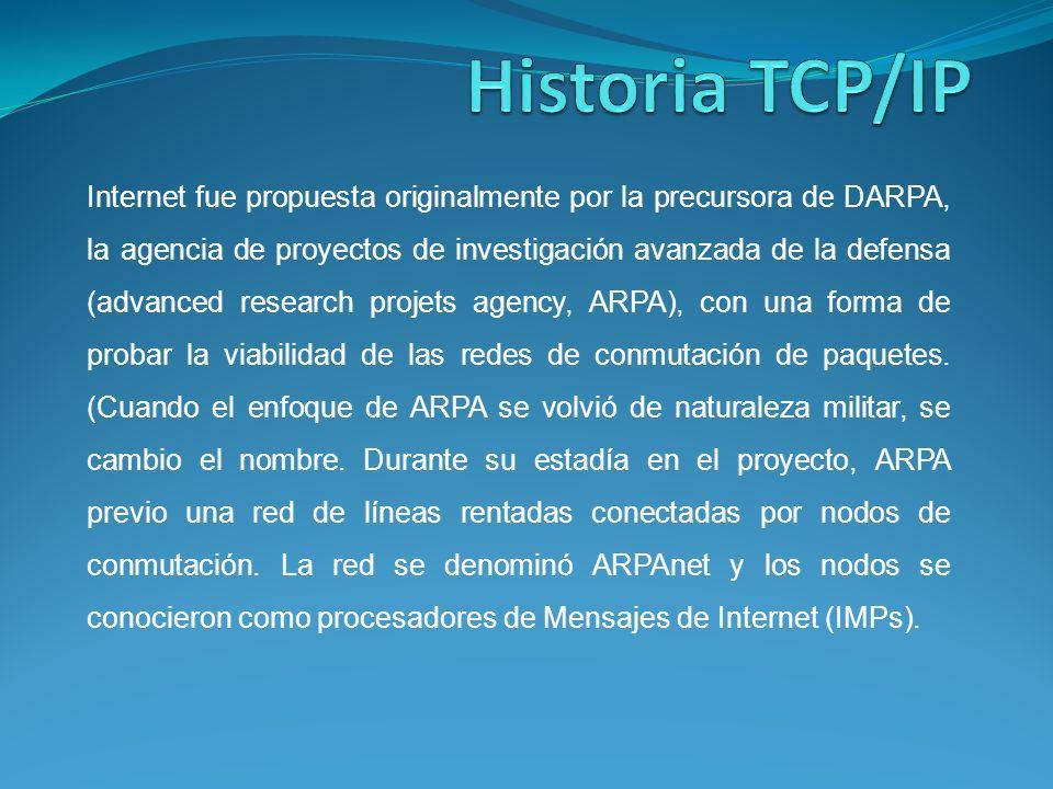 Historia TCP/IP