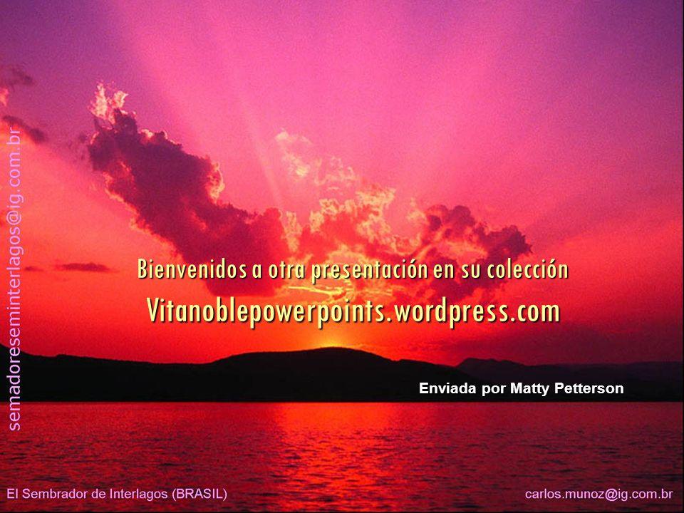 Bienvenidos a otra presentación en su colección Vitanoblepowerpoints