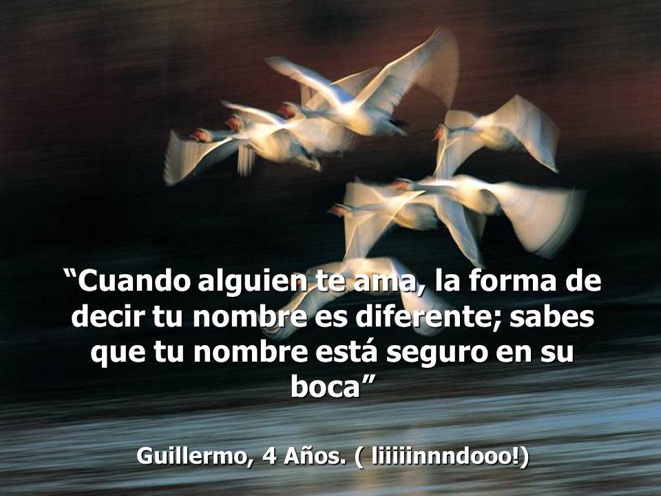 Guillermo, 4 Años. ( liiiiinnndooo!)
