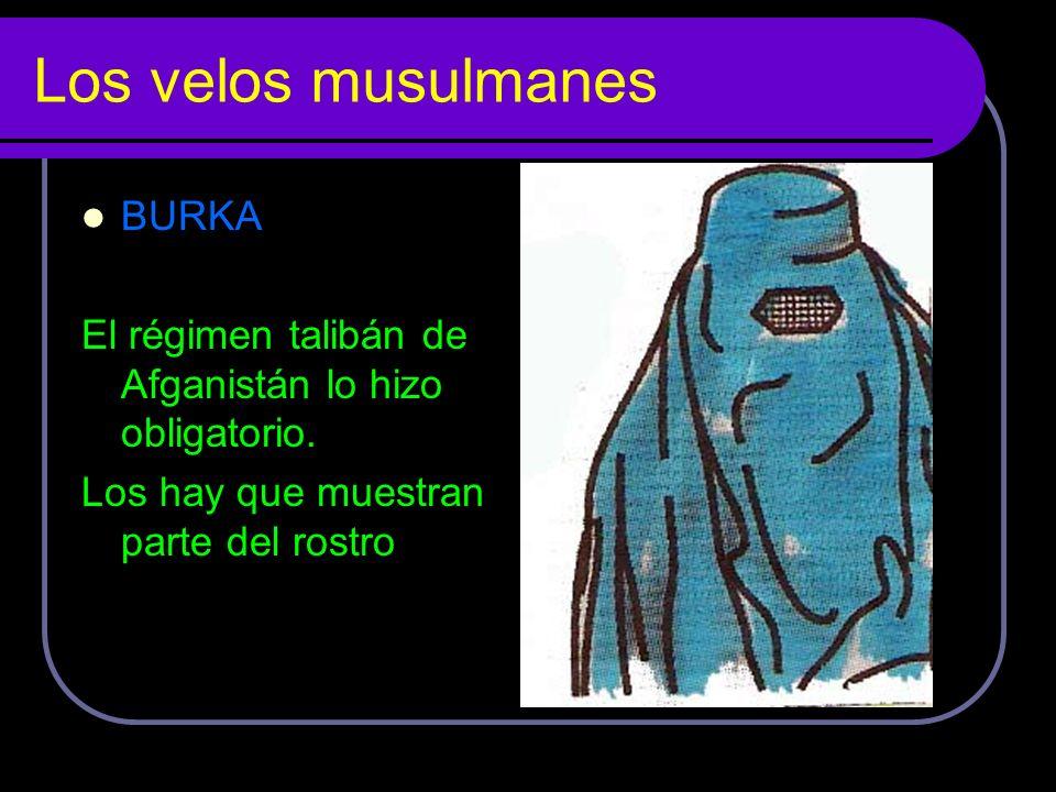 Los velos musulmanes BURKA