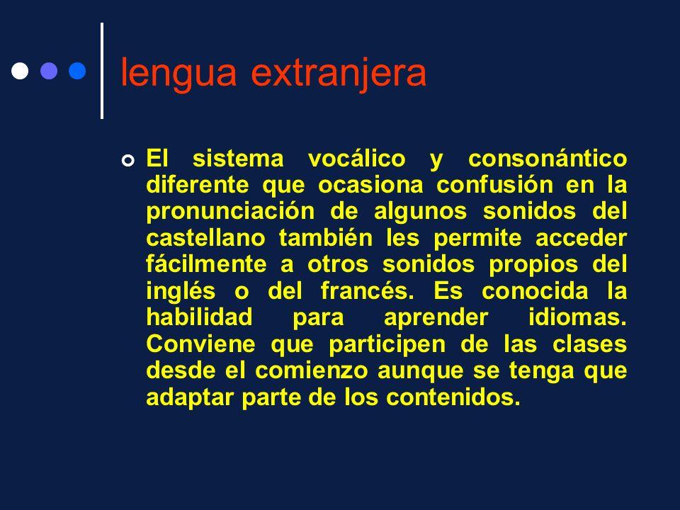 lengua extranjera