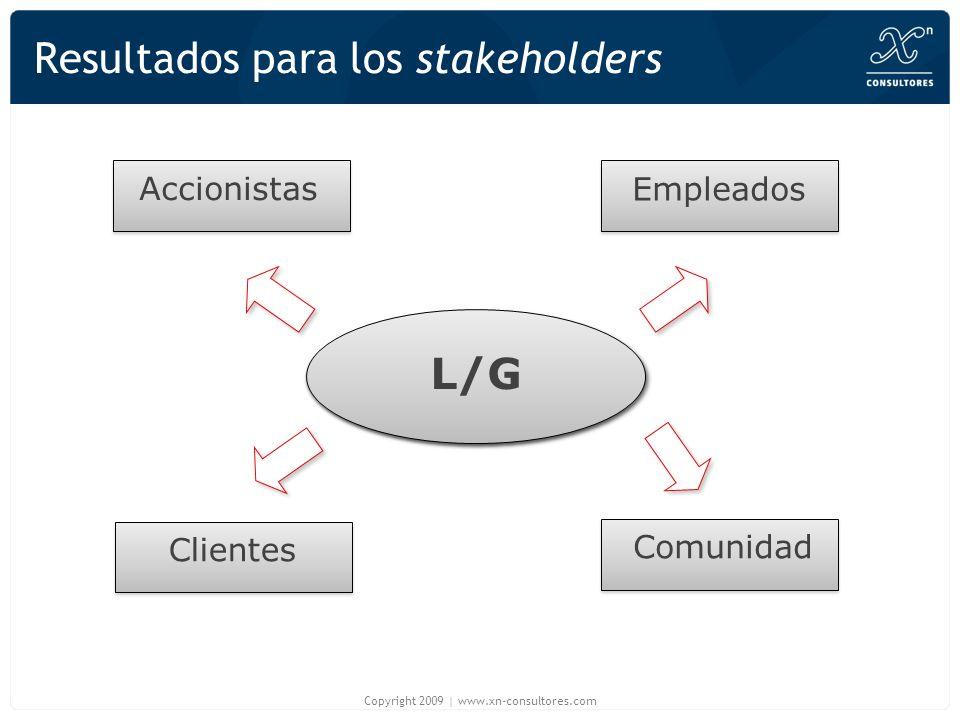 Resultados para los stakeholders