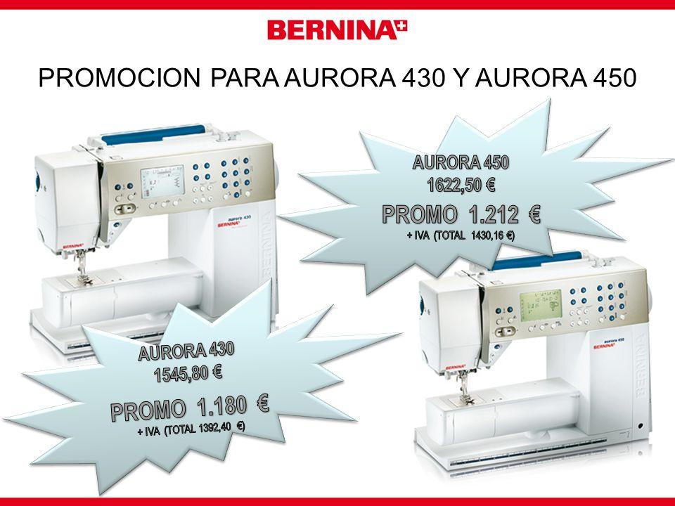 PROMOCION PARA AURORA 430 Y AURORA 450