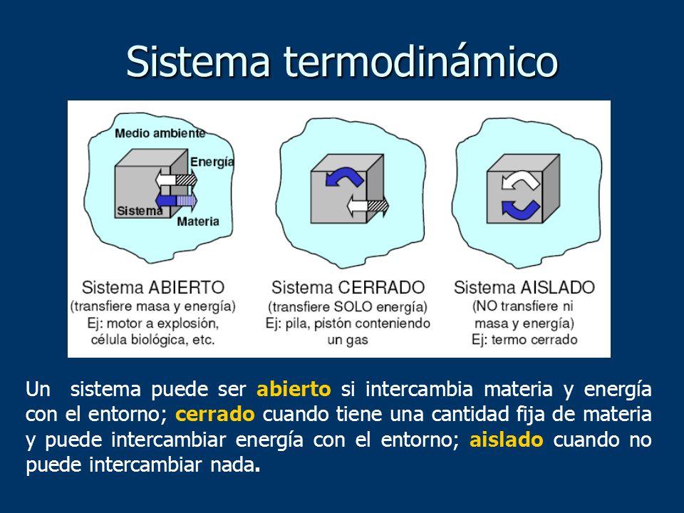 Sistema termodinámico