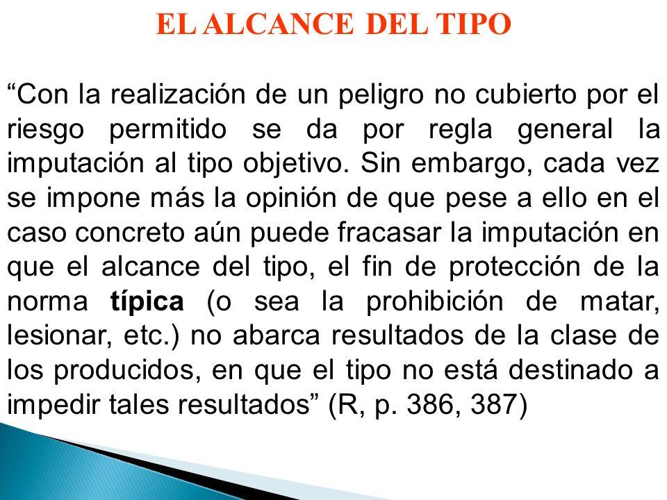 EL ALCANCE DEL TIPO