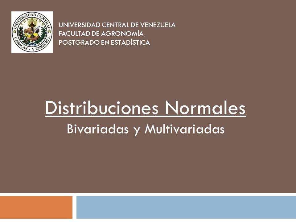 Bivariadas y Multivariadas