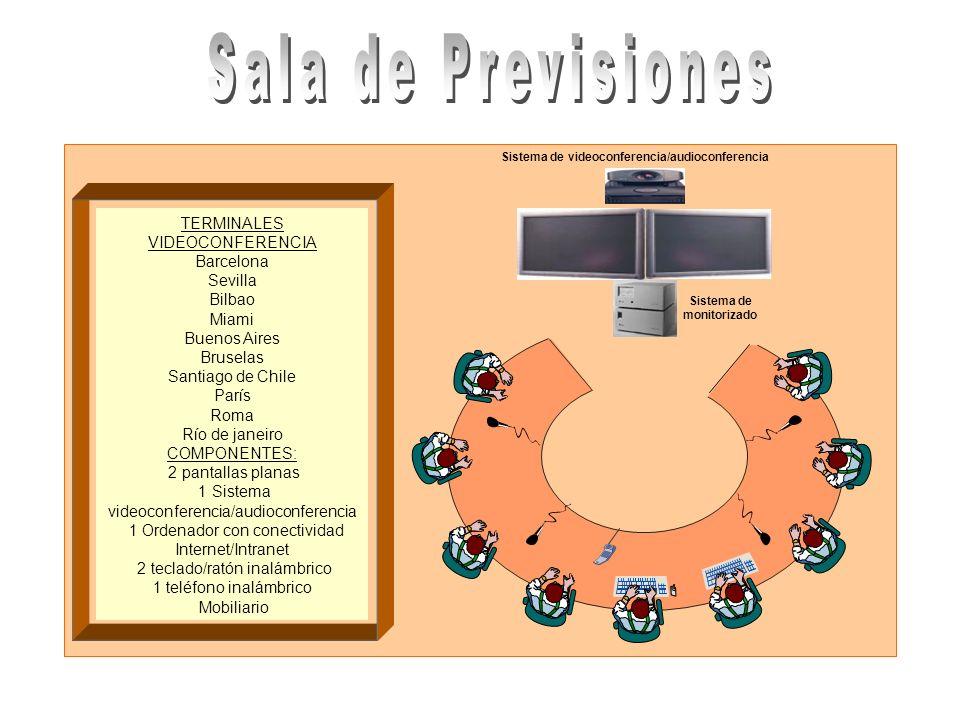 Sistema de videoconferencia/audioconferencia