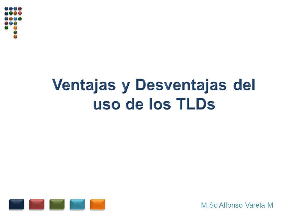 Ventajas y Desventajas del uso de los TLDs