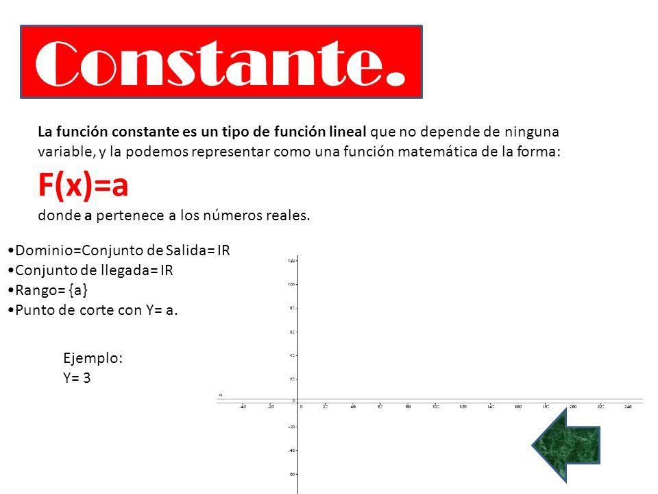 Constante.