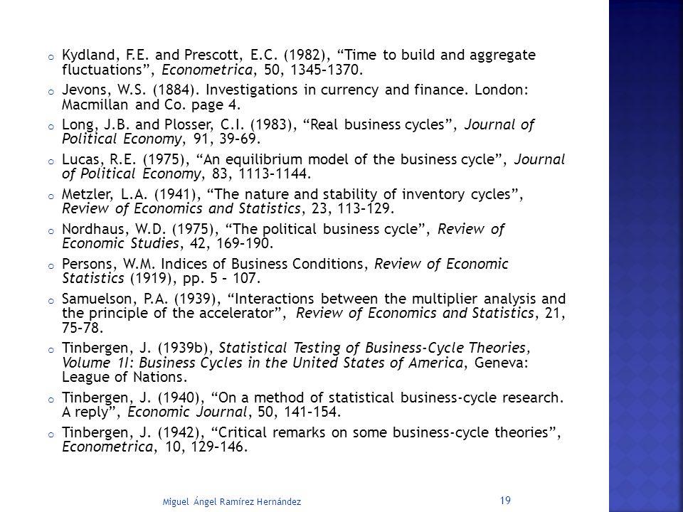 Kydland, F. E. and Prescott, E. C