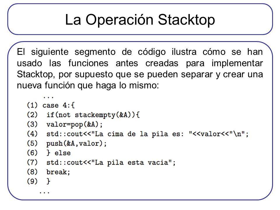 La Operación Stacktop