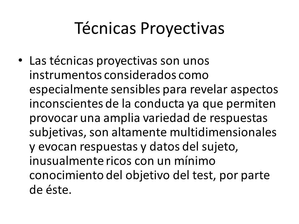 Técnicas Proyectivas