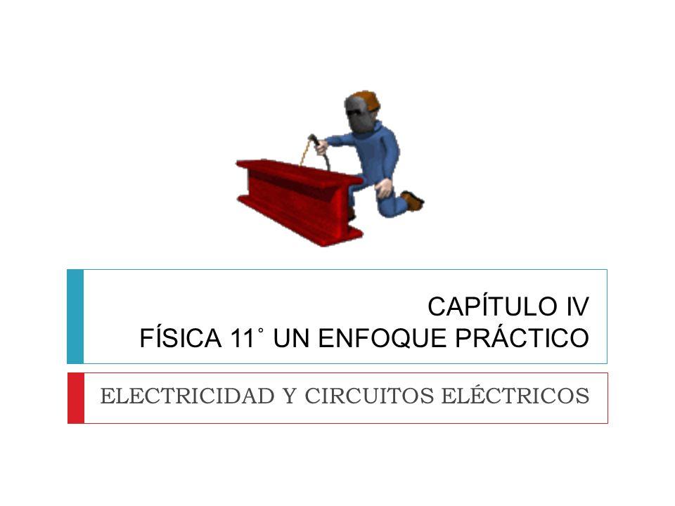CAPÍTULO IV FÍSICA 11˚ UN ENFOQUE PRÁCTICO