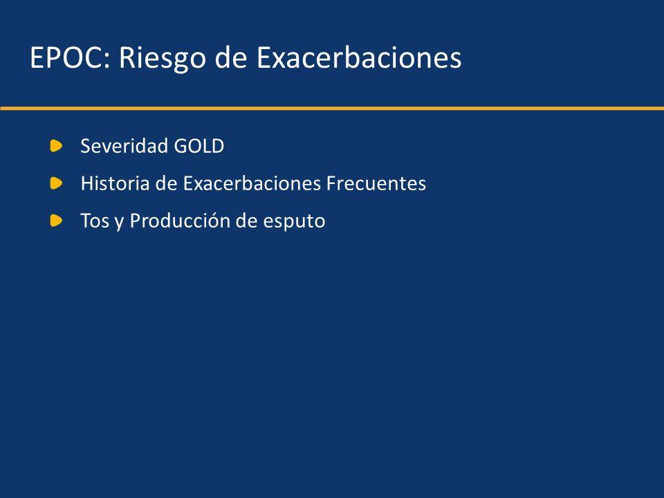 EPOC: Riesgo de Exacerbaciones