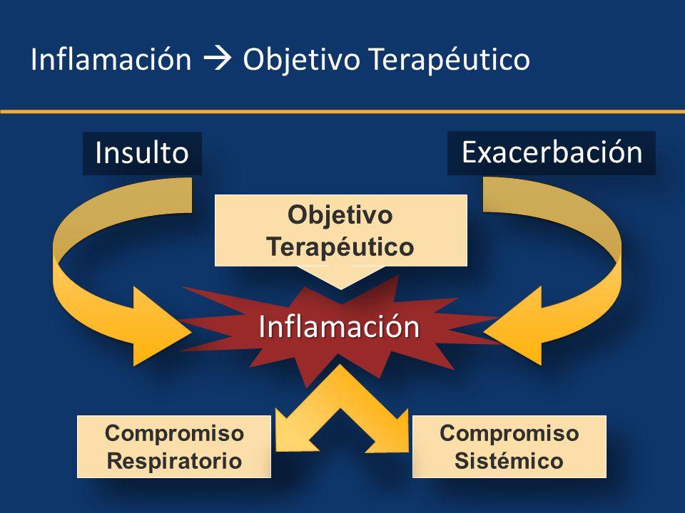 Inflamación  Objetivo Terapéutico