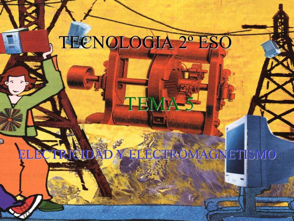 TEMA 5 ELECTRICIDAD Y ELECTROMAGNETISMO