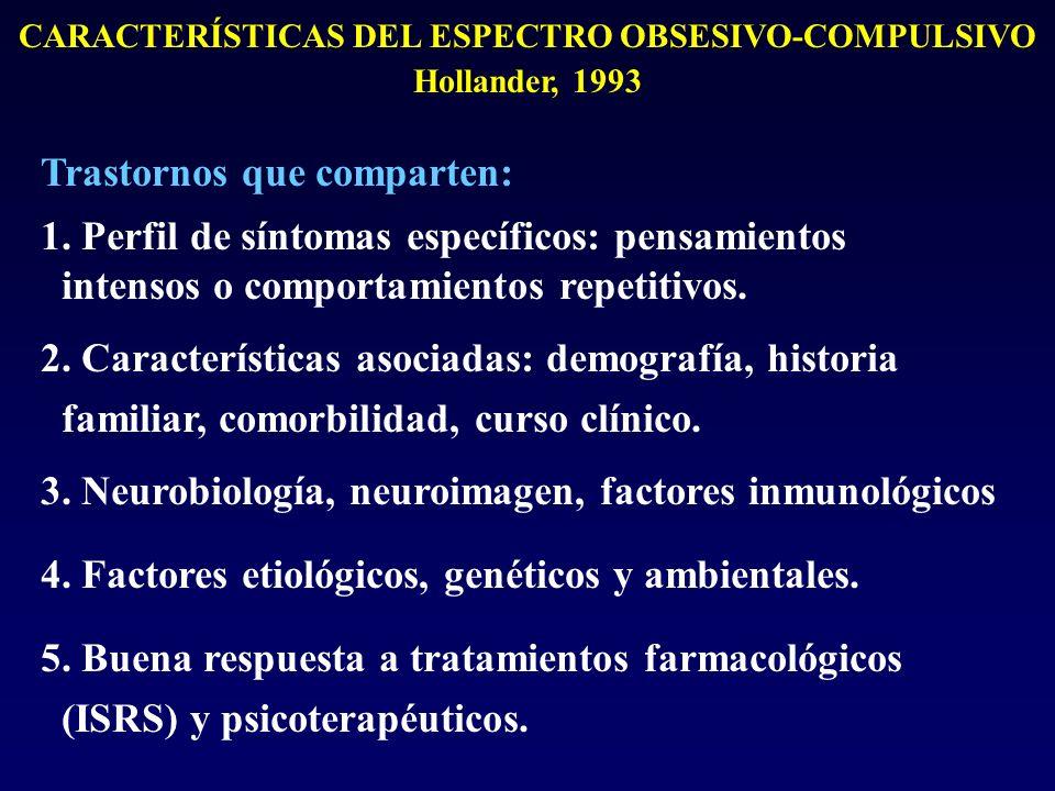 CARACTERÍSTICAS DEL ESPECTRO OBSESIVO-COMPULSIVO