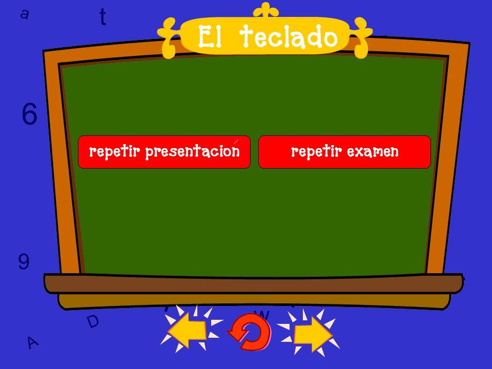 l 6 6 T w T l l t El teclado a t w 9 9 9 c 6 w a c c D A D A