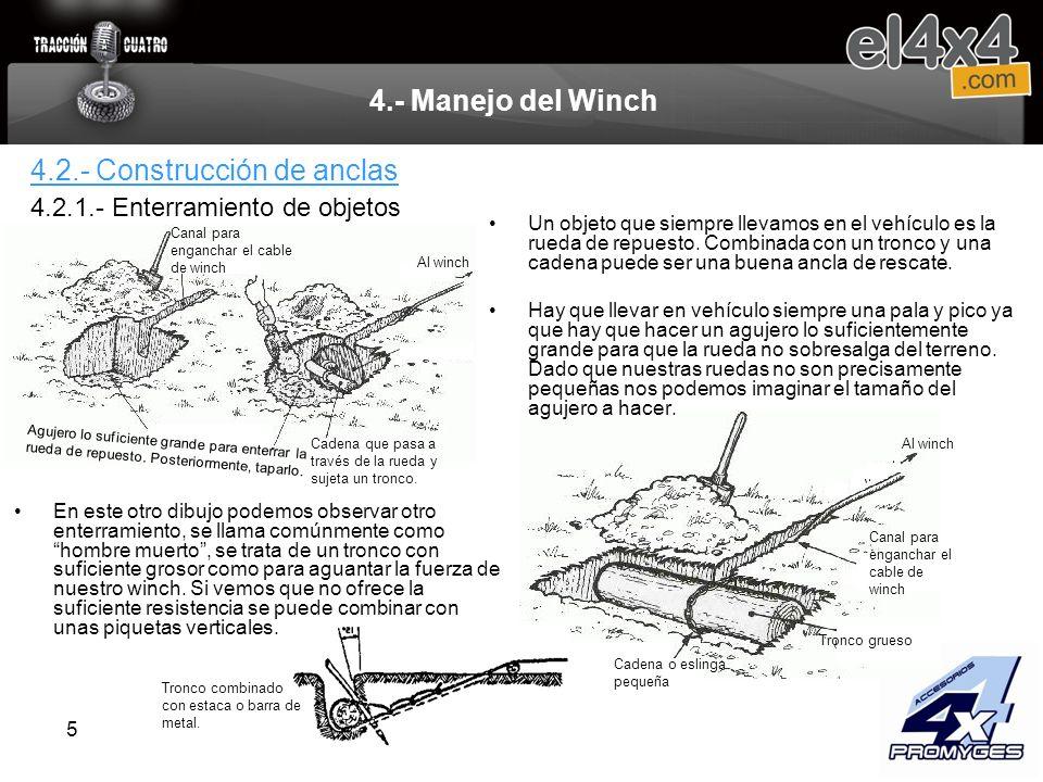 4.2.- Construcción de anclas