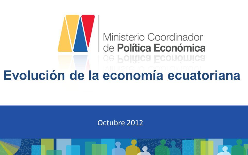 Evolución de la economía ecuatoriana
