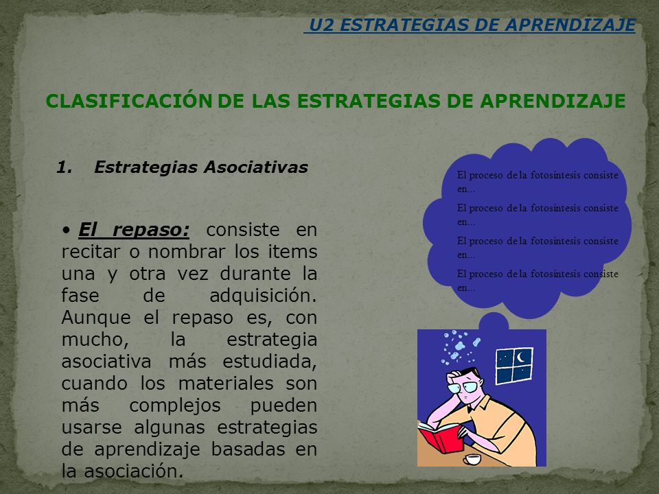 U2 ESTRATEGIAS DE APRENDIZAJE