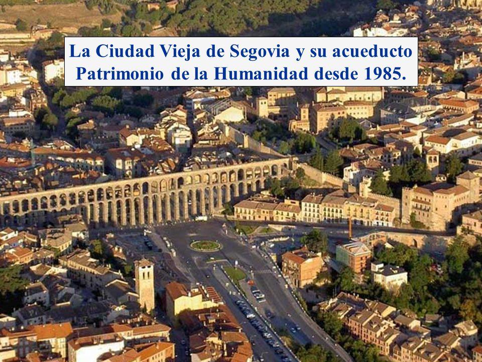 La Ciudad Vieja de Segovia y su acueducto