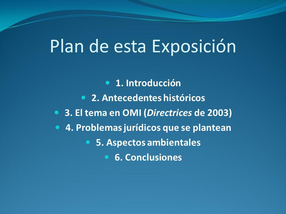 Plan de esta Exposición