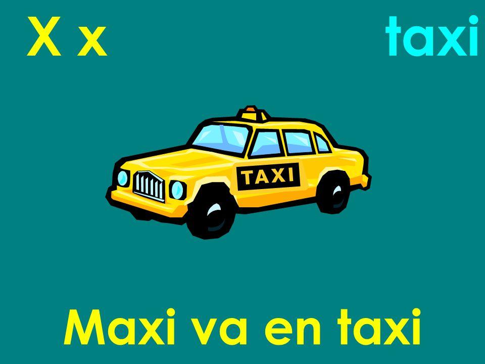 X x taxi Maxi va en taxi