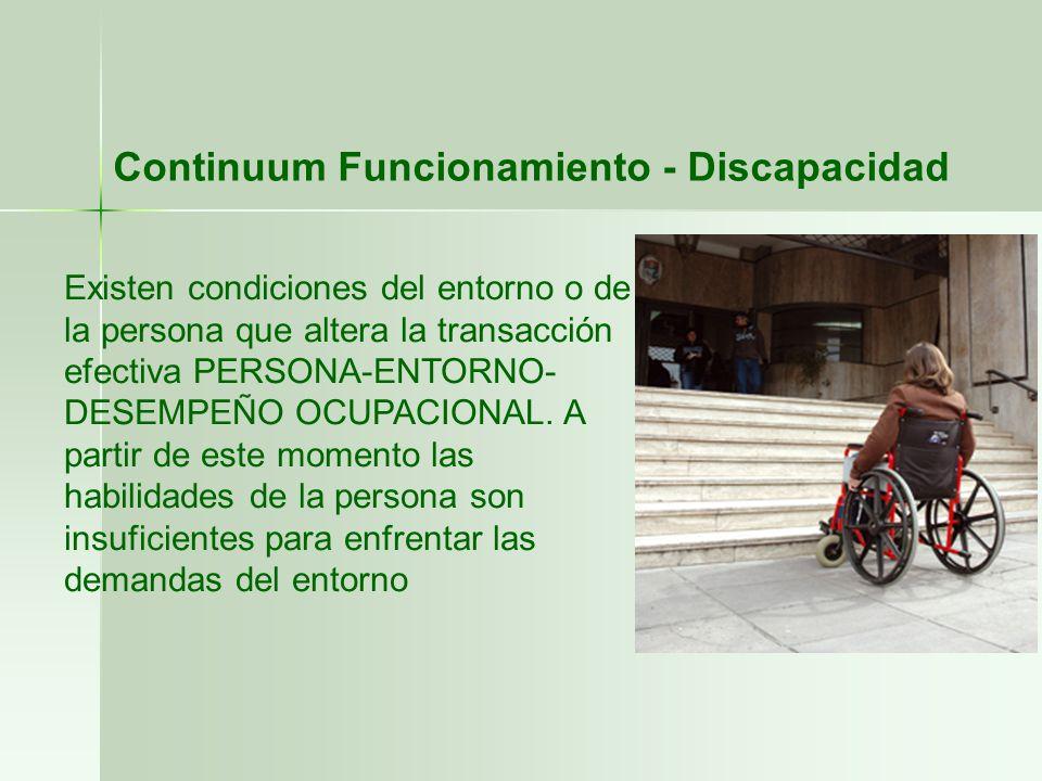 Continuum Funcionamiento - Discapacidad
