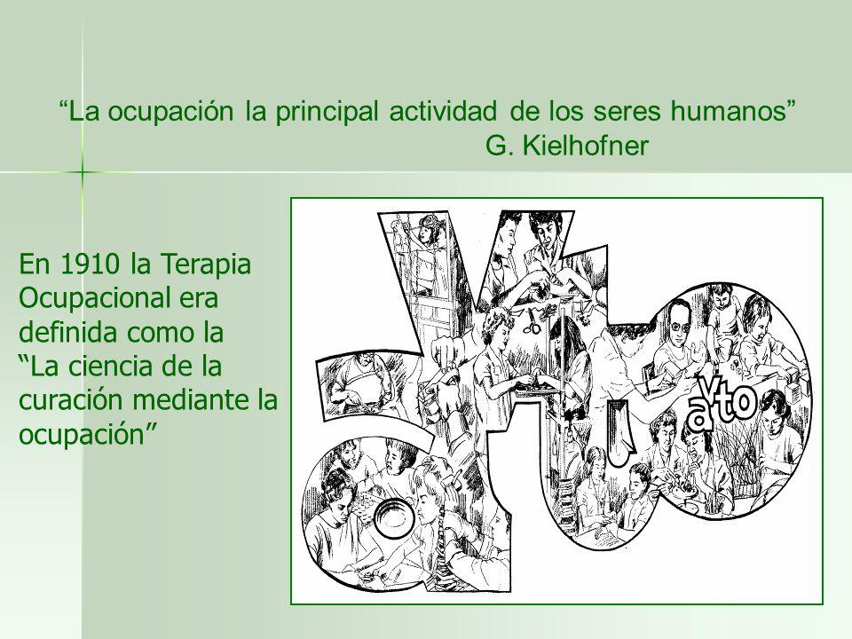 La ocupación la principal actividad de los seres humanos
