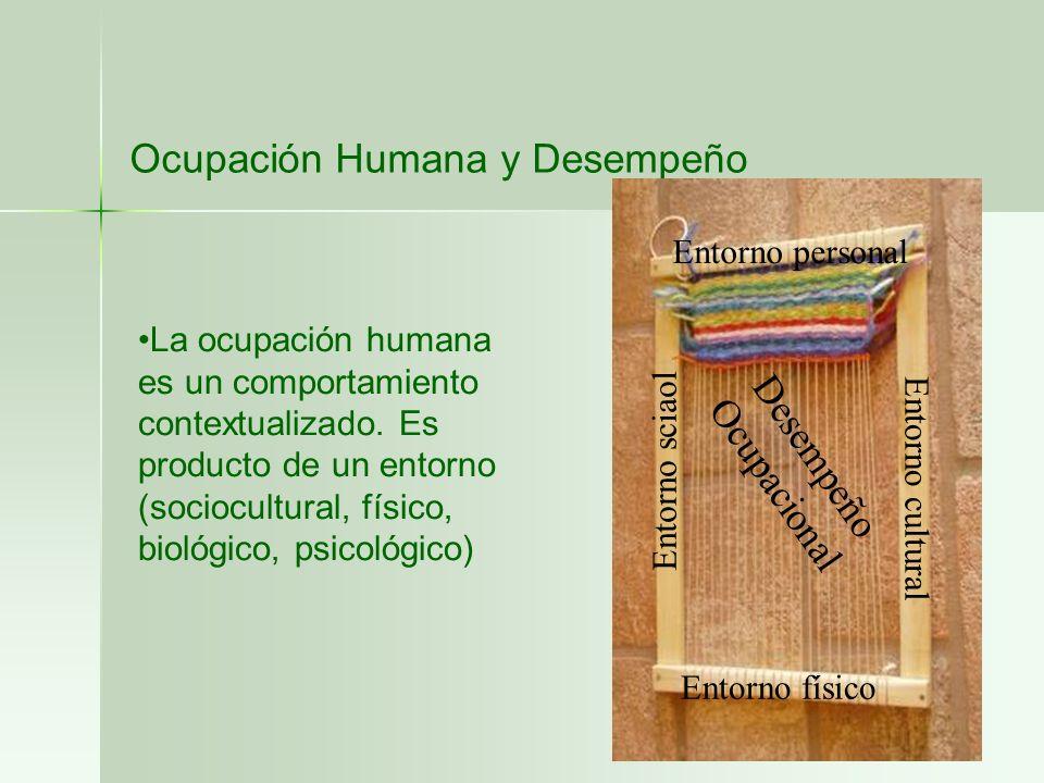 Ocupación Humana y Desempeño