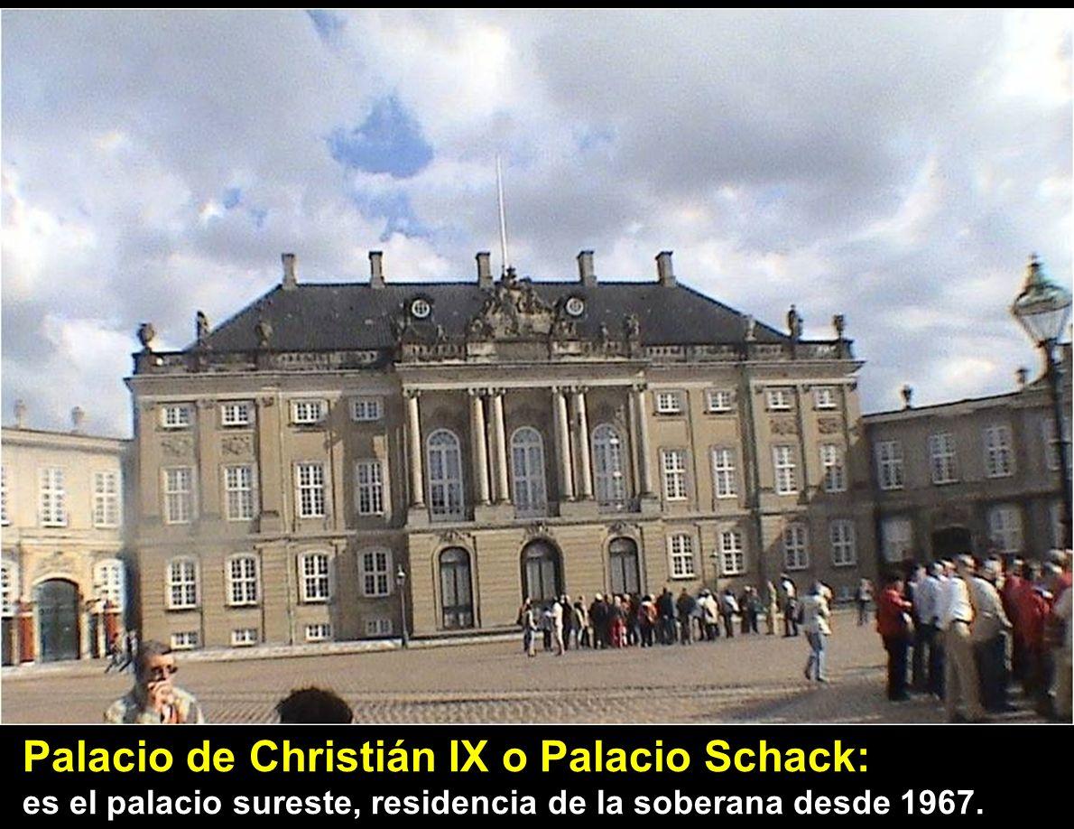 Palacio de Christián IX o Palacio Schack: