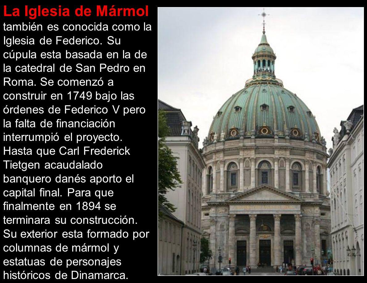 La Iglesia de Mármol también es conocida como la Iglesia de Federico