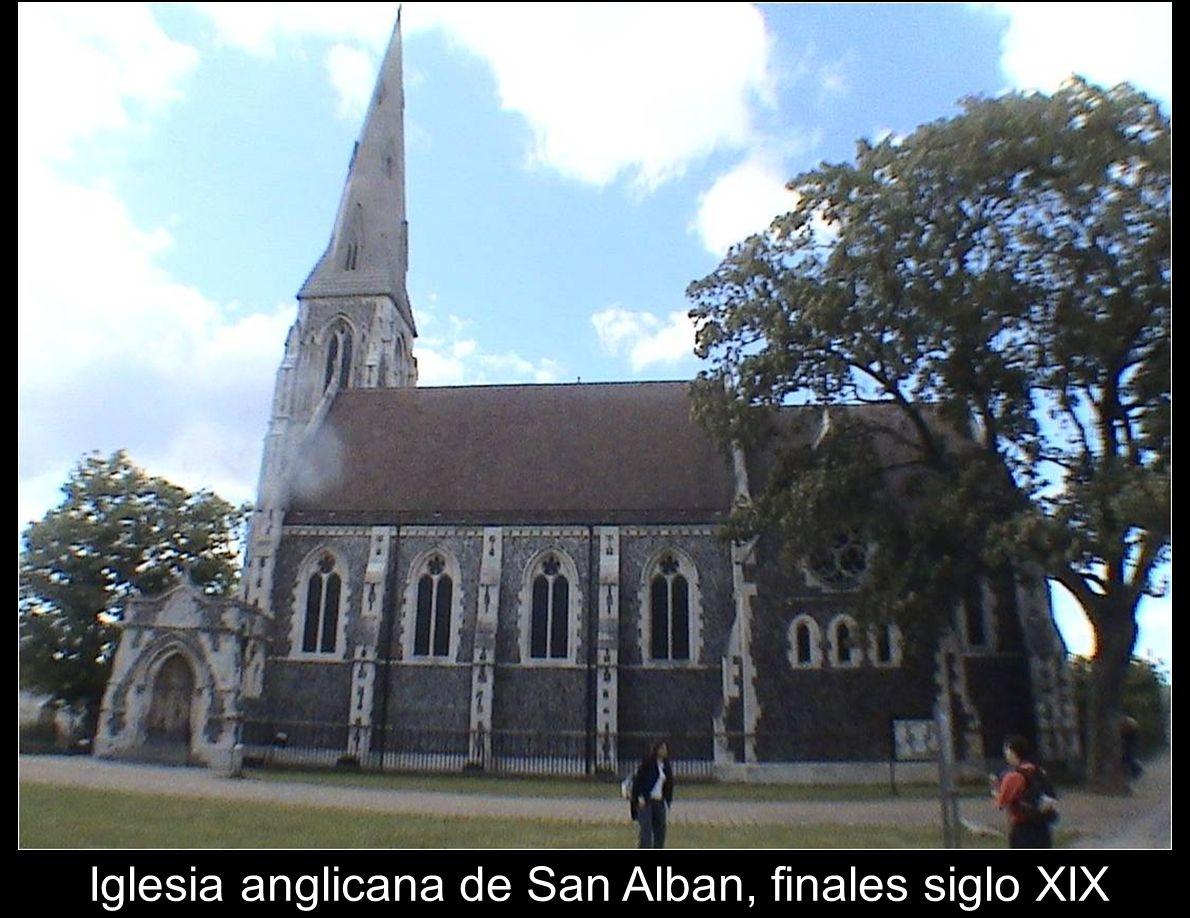 Iglesia anglicana de San Alban, finales siglo XIX