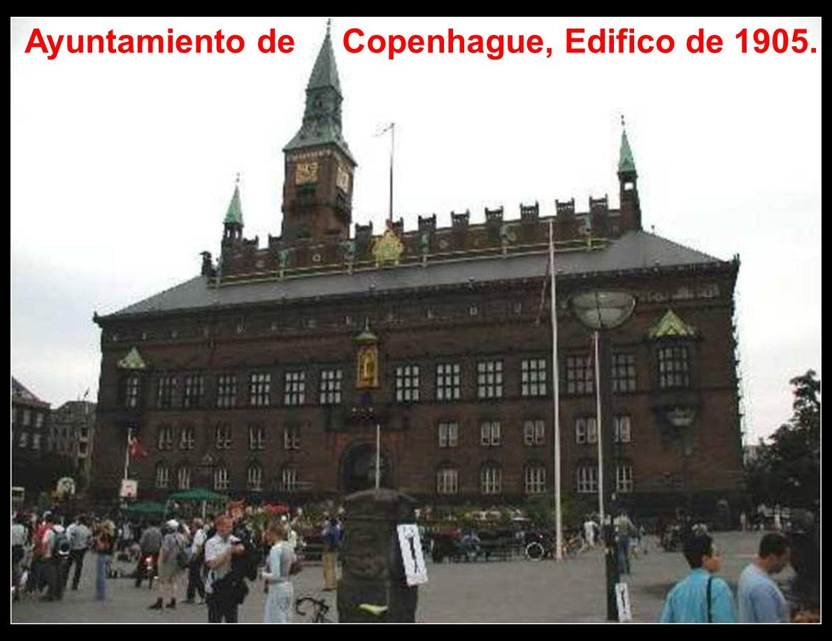 Ayuntamiento de Copenhague, Edifico de 1905.