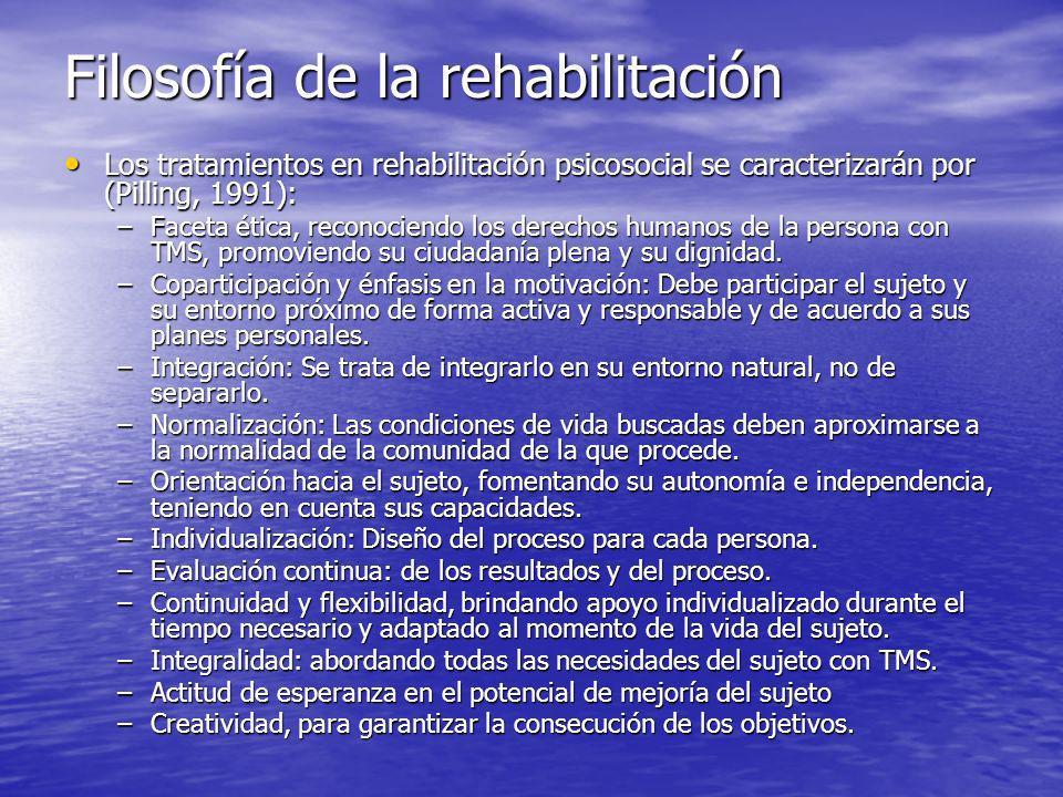 Filosofía de la rehabilitación