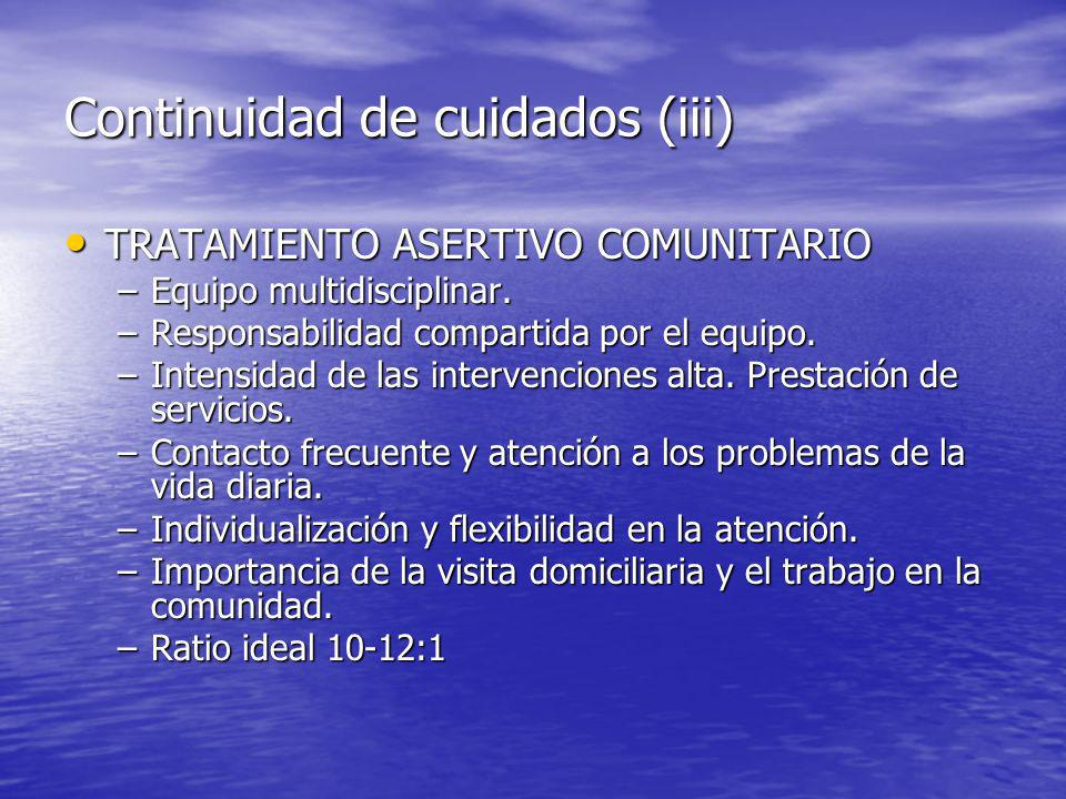Continuidad de cuidados (iii)
