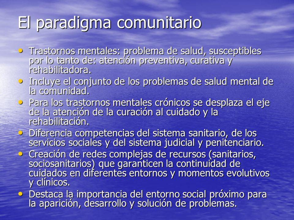 El paradigma comunitario