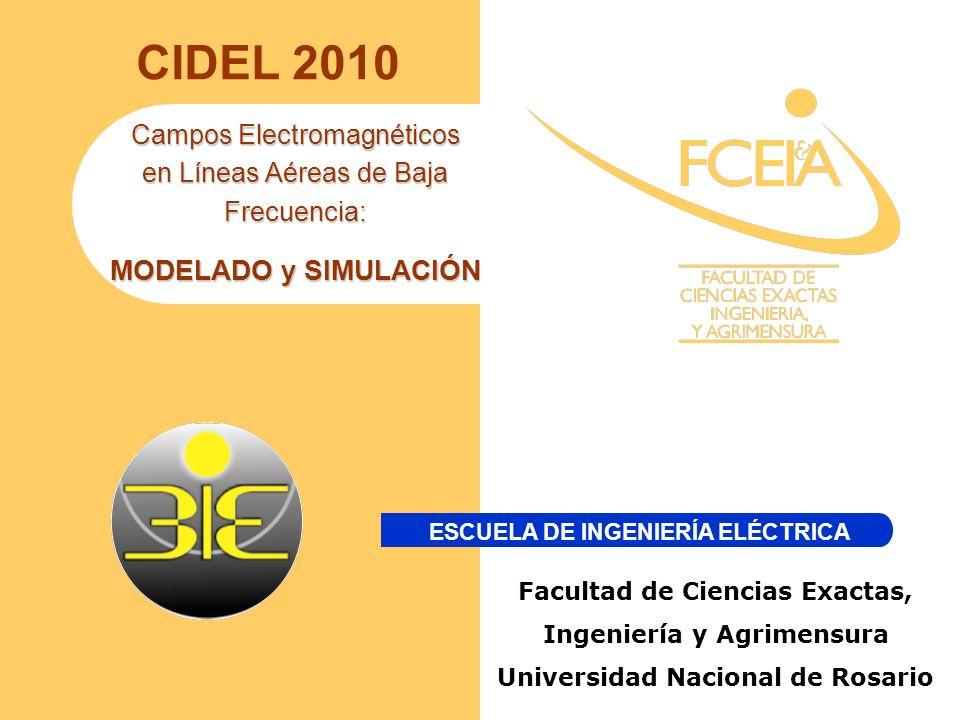 CIDEL 2010 MODELADO y SIMULACIÓN Campos Electromagnéticos