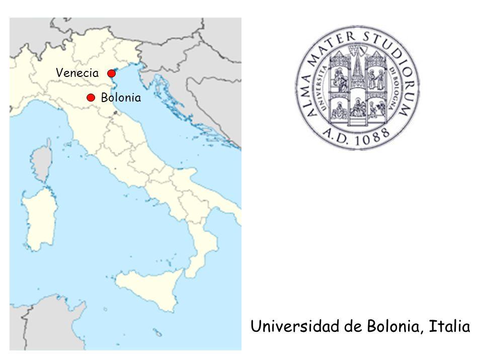 Universidad de Bolonia, Italia