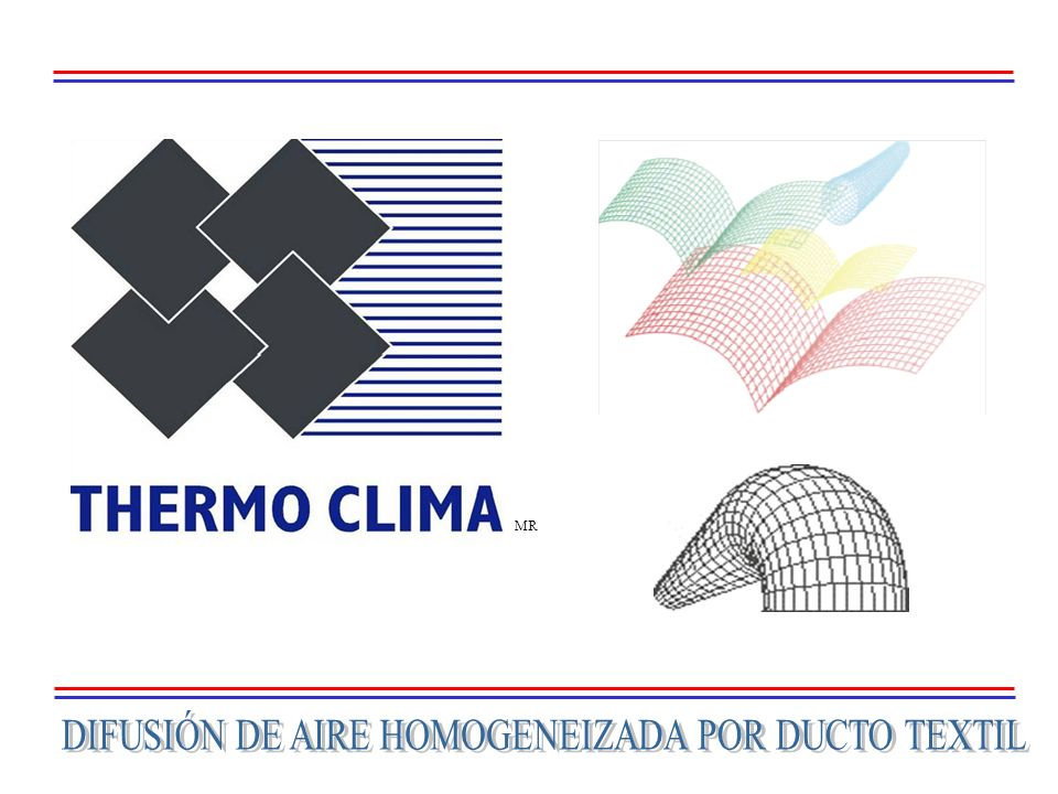 DIFUSIÓN DE AIRE HOMOGENEIZADA POR DUCTO TEXTIL