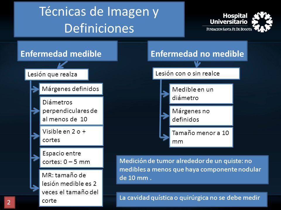 Técnicas de Imagen y Definiciones