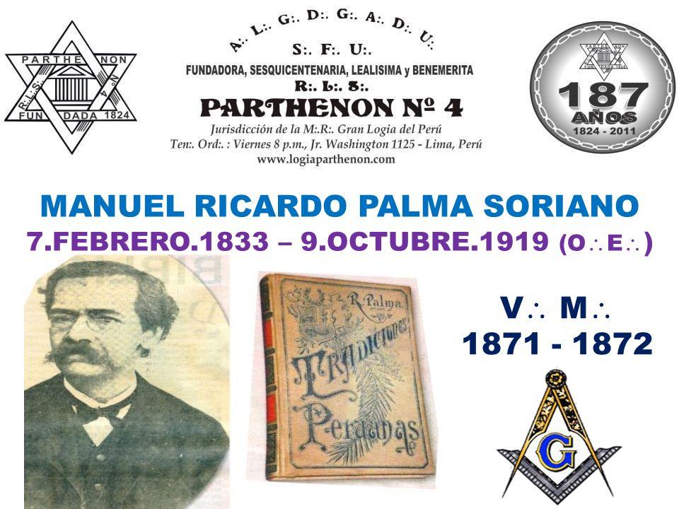 7.FEBRERO.1833 – 9.OCTUBRE.1919 (OE)